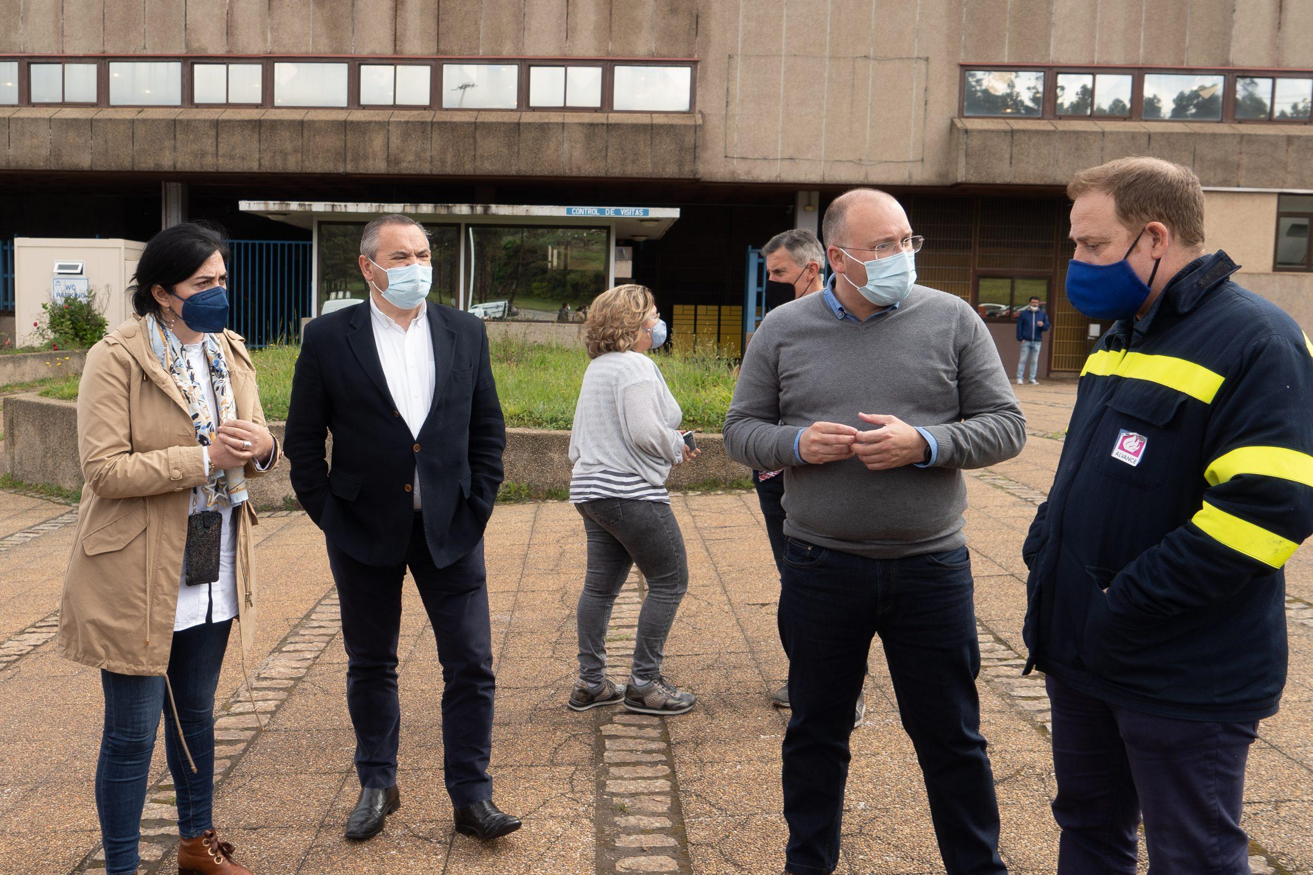 """""""O Goberno e Alcoa teñen que actuar xa para salvar a planta de San Cibrao"""", afirma o PP trala reunión cos traballadores"""