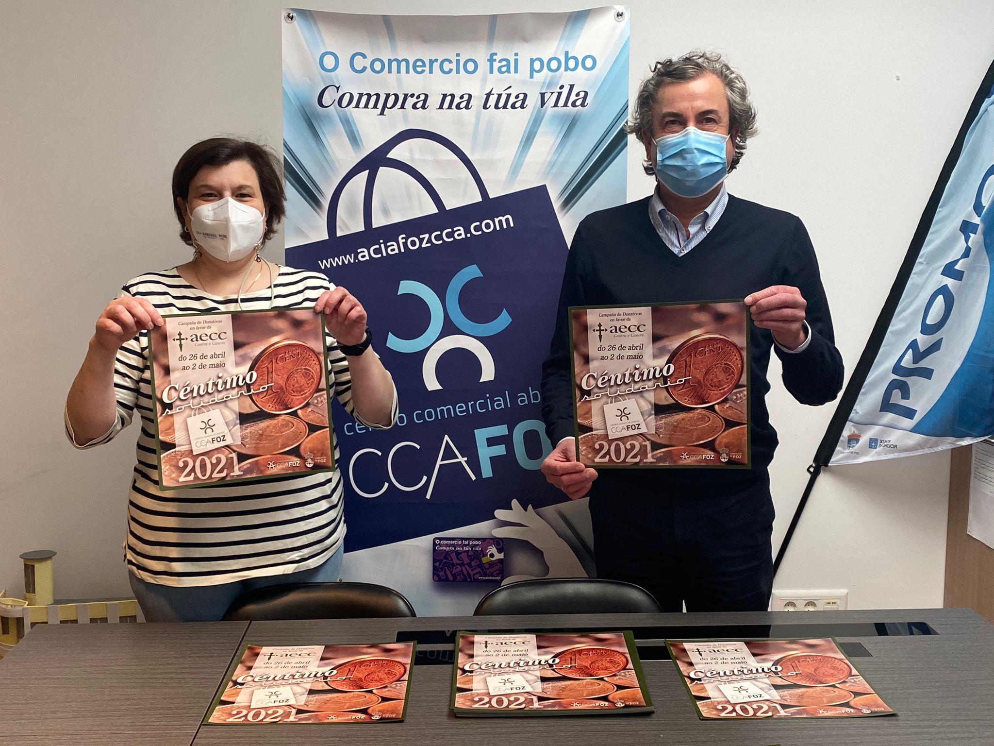 Chega unha nova edición da campaña Céntimo solidario, que contará un ano máis coa colaboración de AciaFozCCA