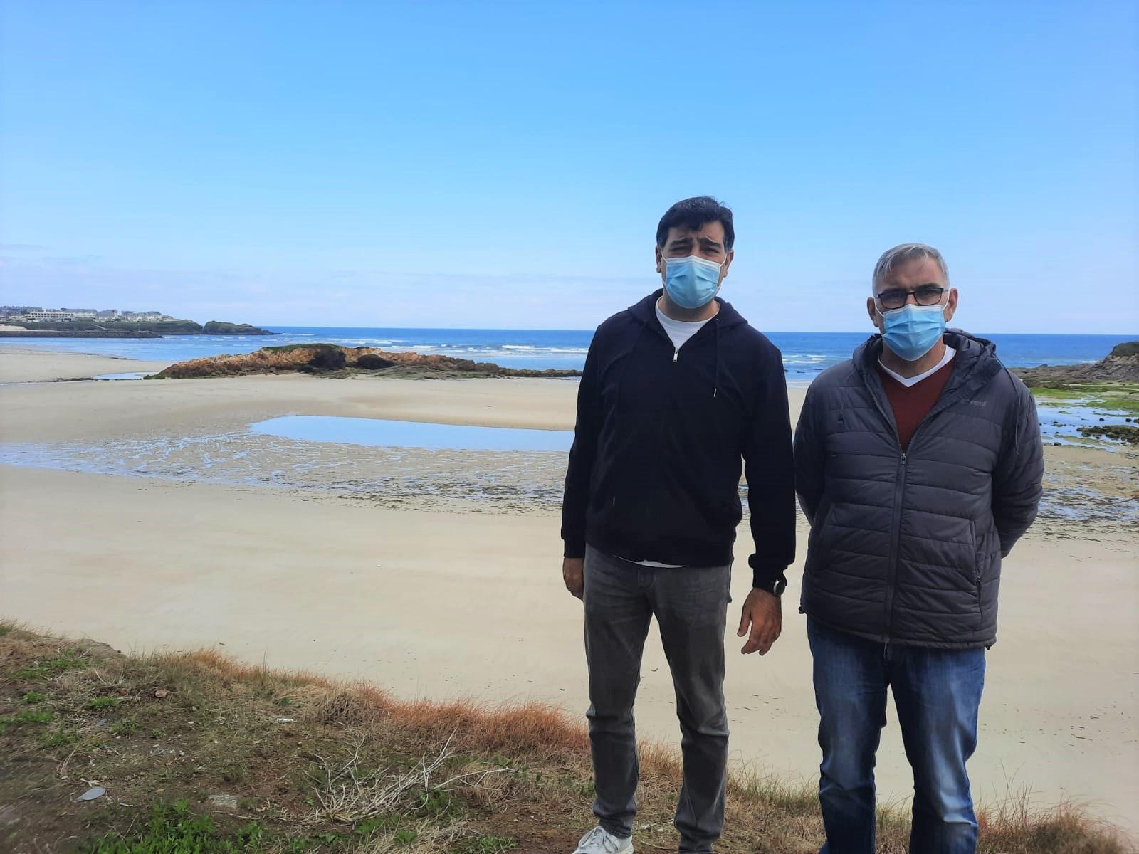O grupo provincial do PP quere que a Deputación se pronuncie en contra do espigón que proxecta o Goberno na praia de Altar, na ría de Foz