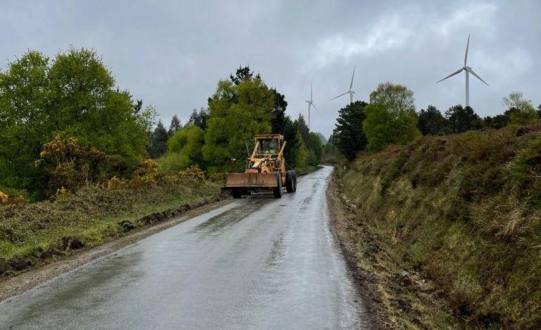 A Deputación comeza obras en catro estradas provinciais de Ourol nas que inviste 255.000€