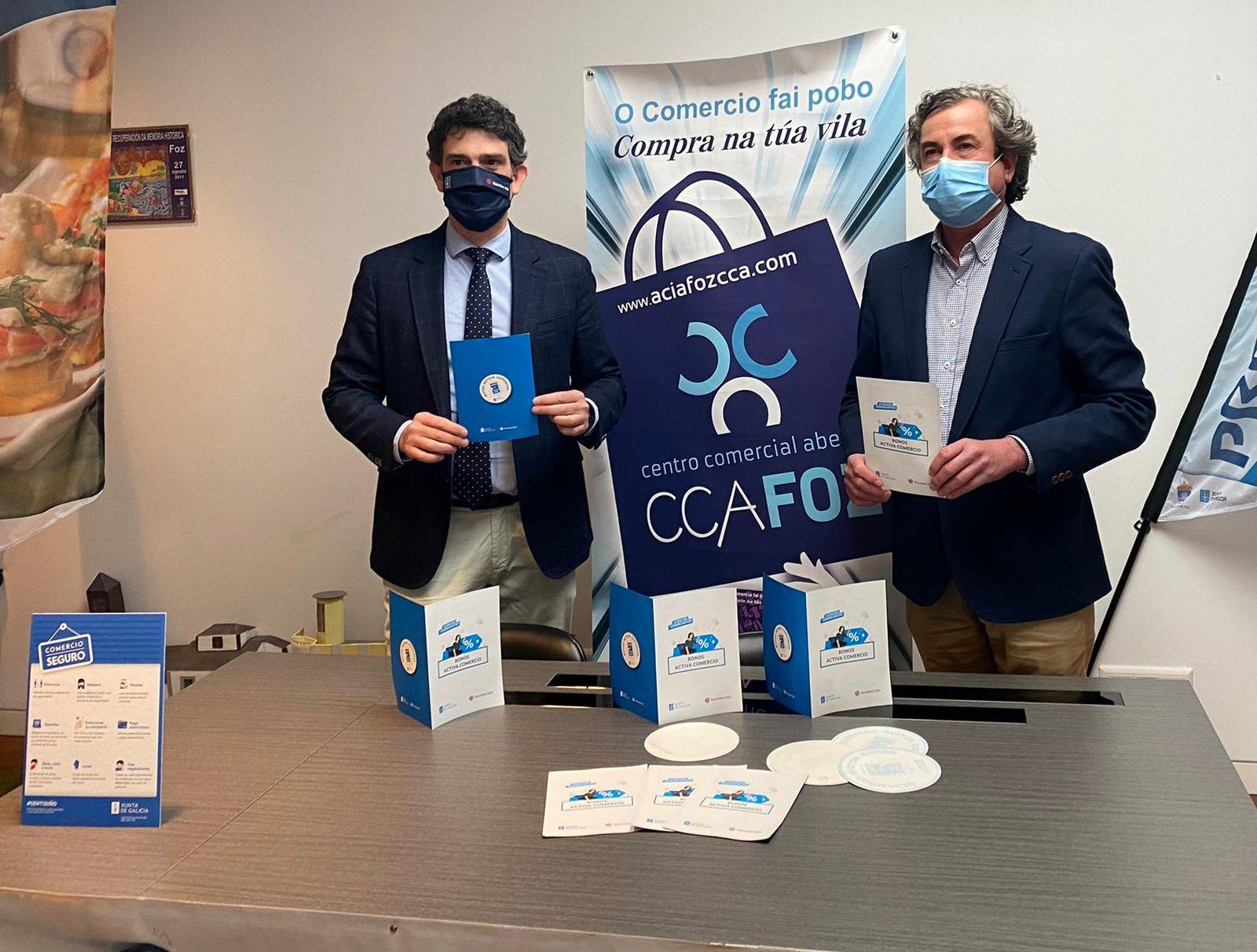 Uns 300 comercios asociados á FCAM participarán na campaña de bonos Activa Comercio, da Xunta