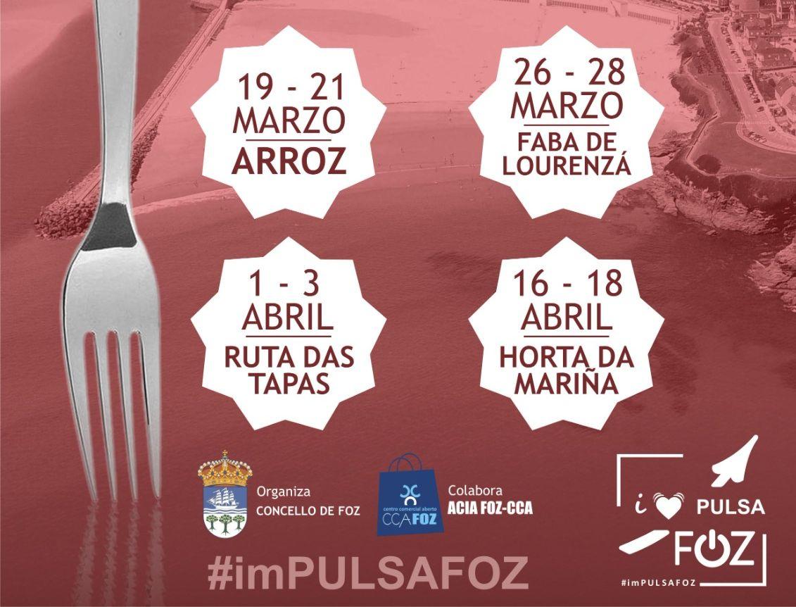 Sorteados os 10 premios das terceiras Xornadas Gastronómicas imPulsa Foz, dedicadas á Ruta das Tapas