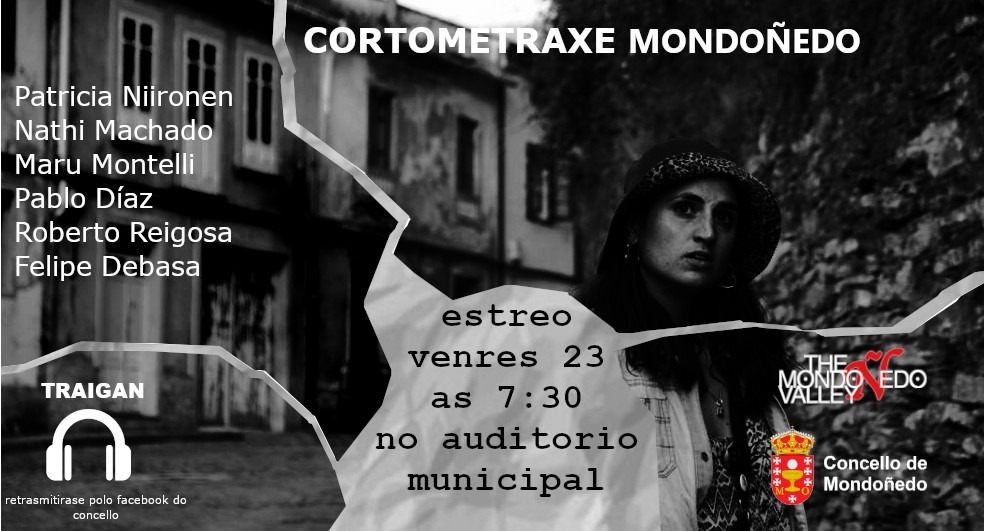 """Proxección da  curtametraxe """"Mondoñedo"""" no Auditorio Municipal"""