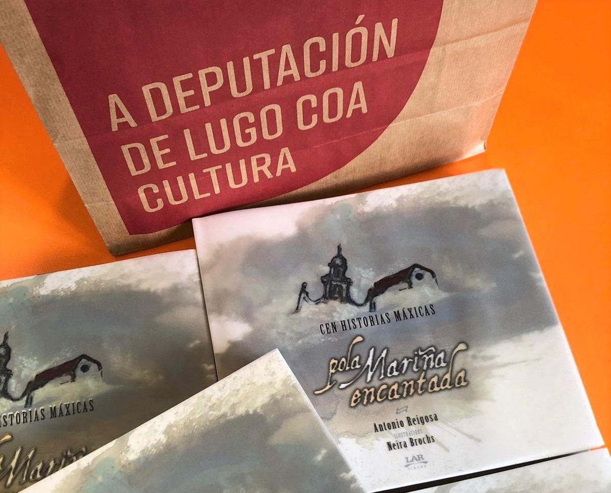 Con motivo do Día do Libro, o Concello de Viveiro entrega nos centros educativos 'Cen historias máxicas pola Mariña Encantada', de Antón Reigosa