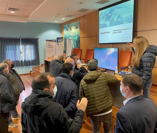 Xornada sobre innovación na pesca en Burela