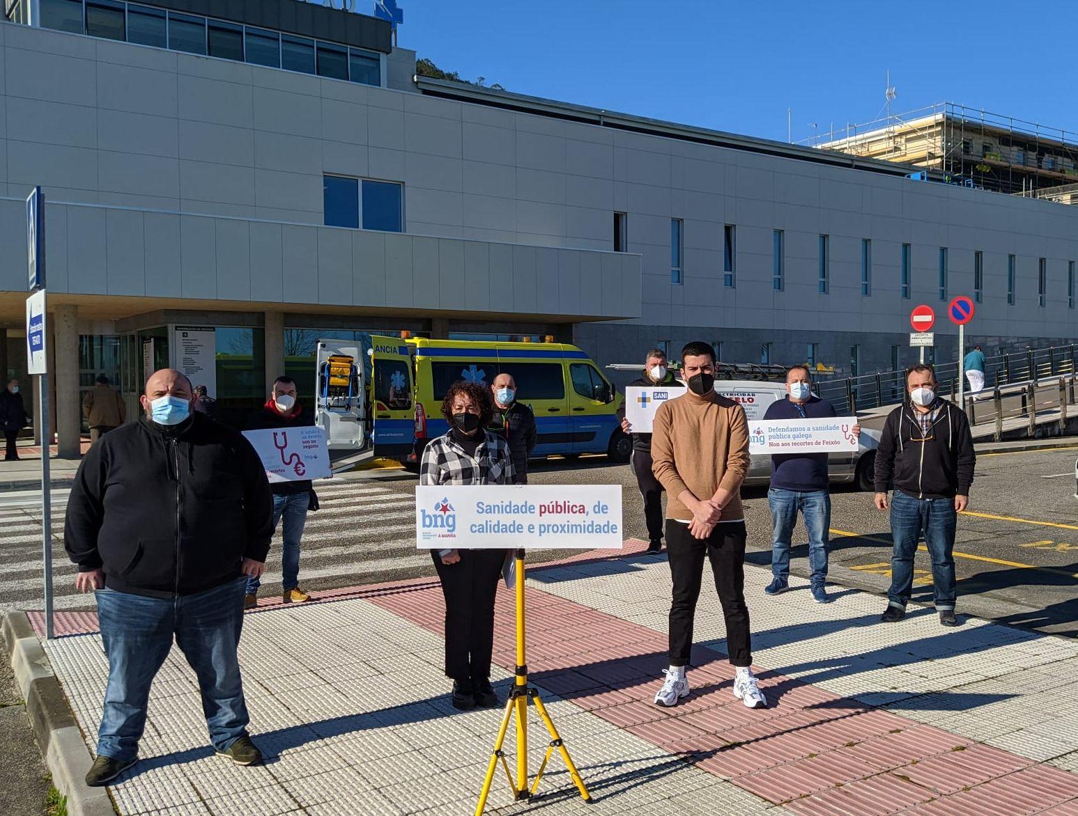 O BNG pide consulta de cirurxía vascular no Hospital da Mariña