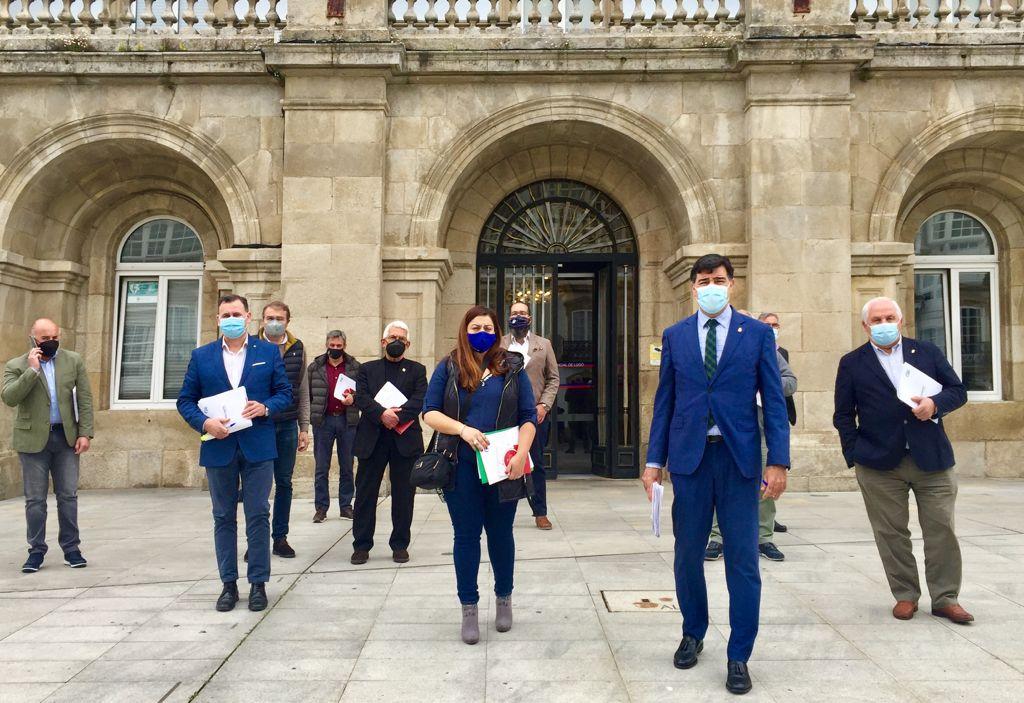 O PP abandona o pleno provincial ao non recibir desculpas de Tomé acerca das declaracións sobre Elena Candia