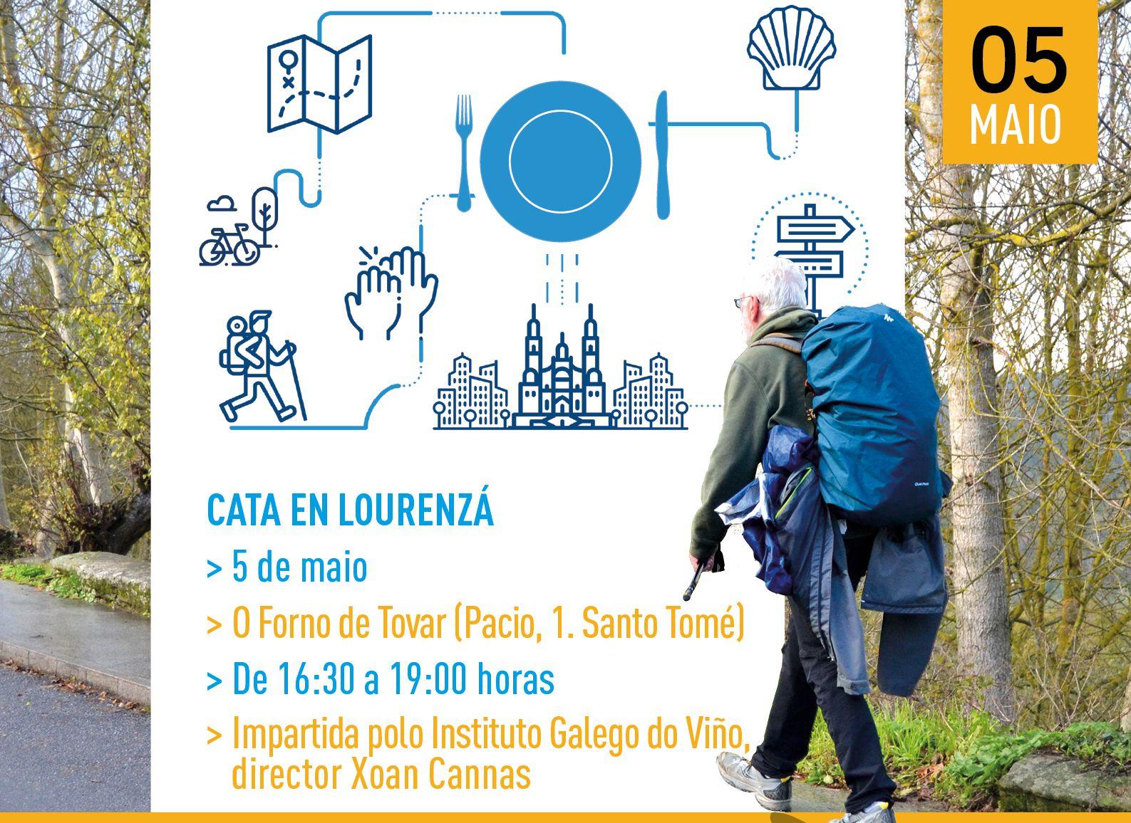 As Catas …E para comer, Lugo no Camiño rematarán o 5 de maio en Lourenzá