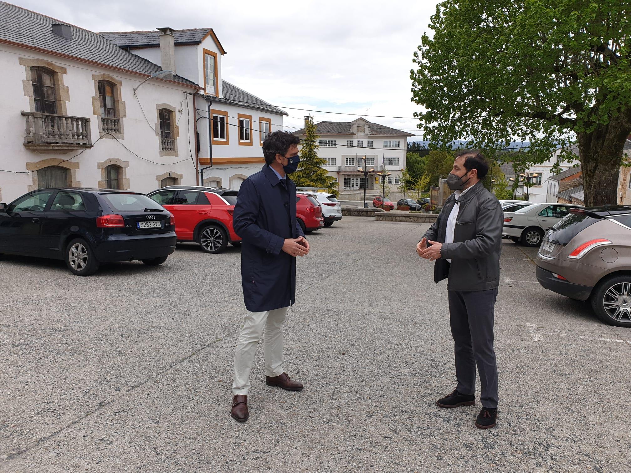 A Xunta impulsa con preto de 520.000 euros obras do Plan Hurbe en nove concellos da provincia, entre eles O Vicedo, Barreiros e Trabada