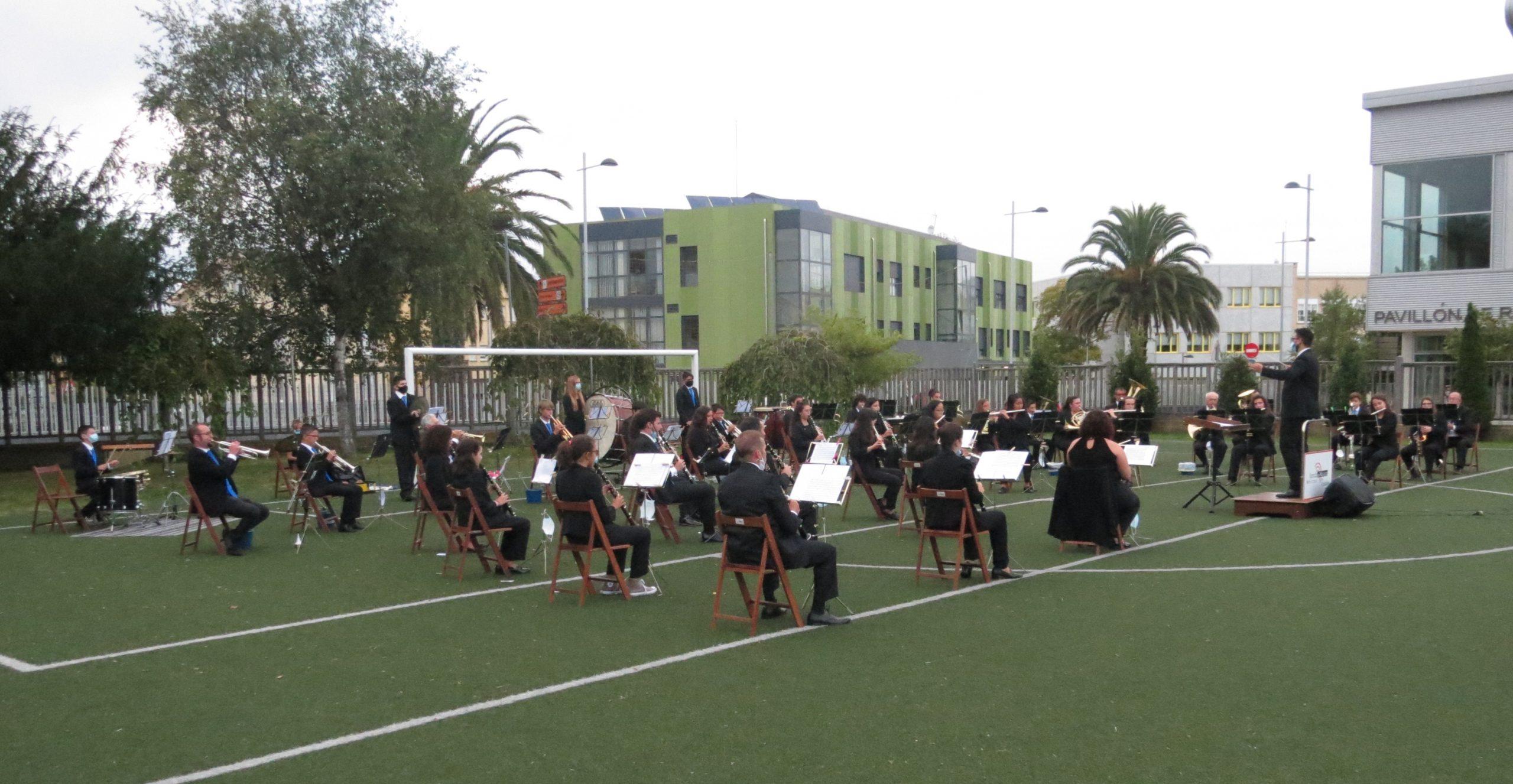 Primeira actuación do ano da Banda de Ribadeo, este sábado co tradicional Concerto das Letras Galegas