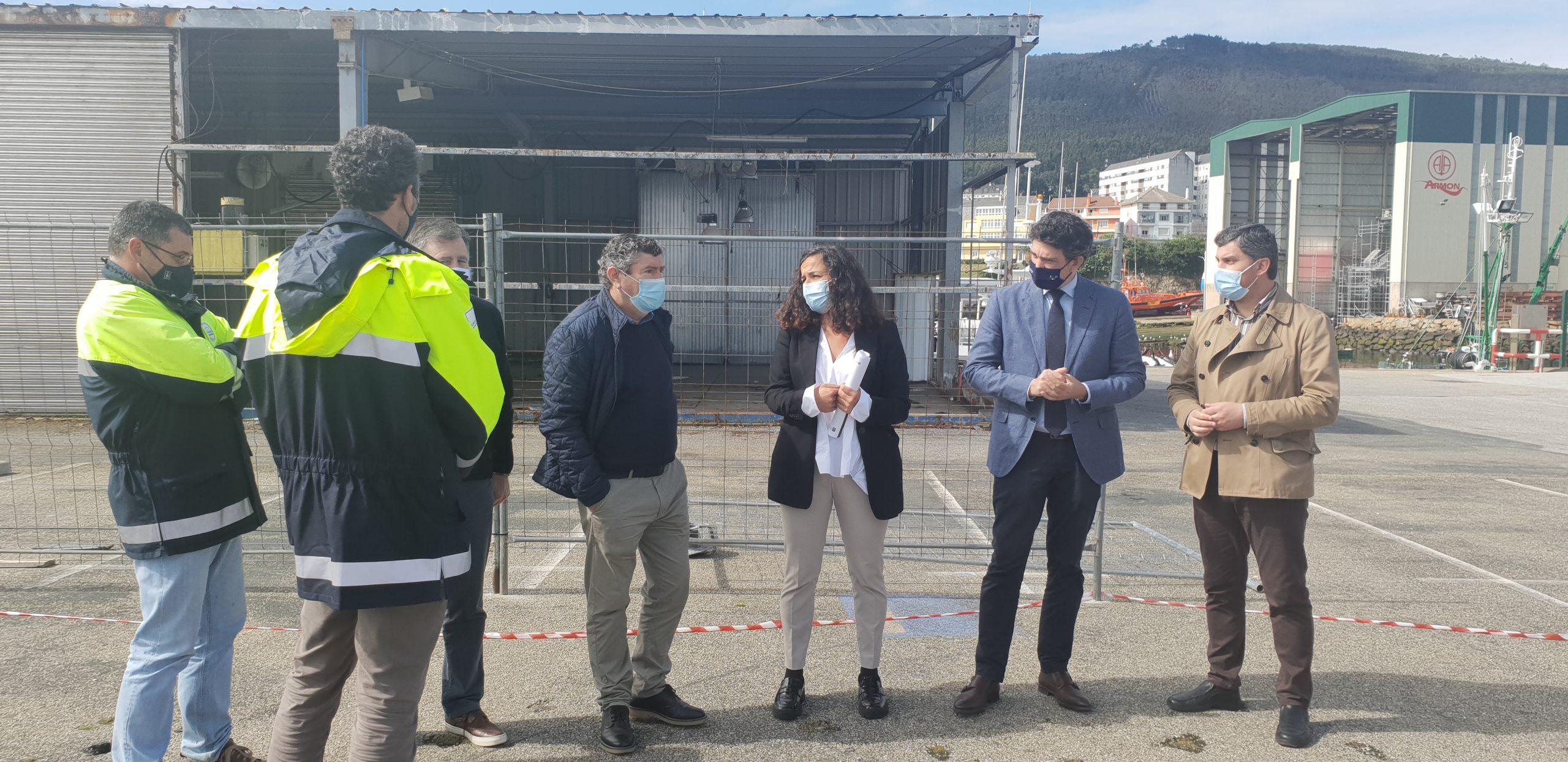 270.000 euros para a mellora e acondicionamento da nave de redes de Burela