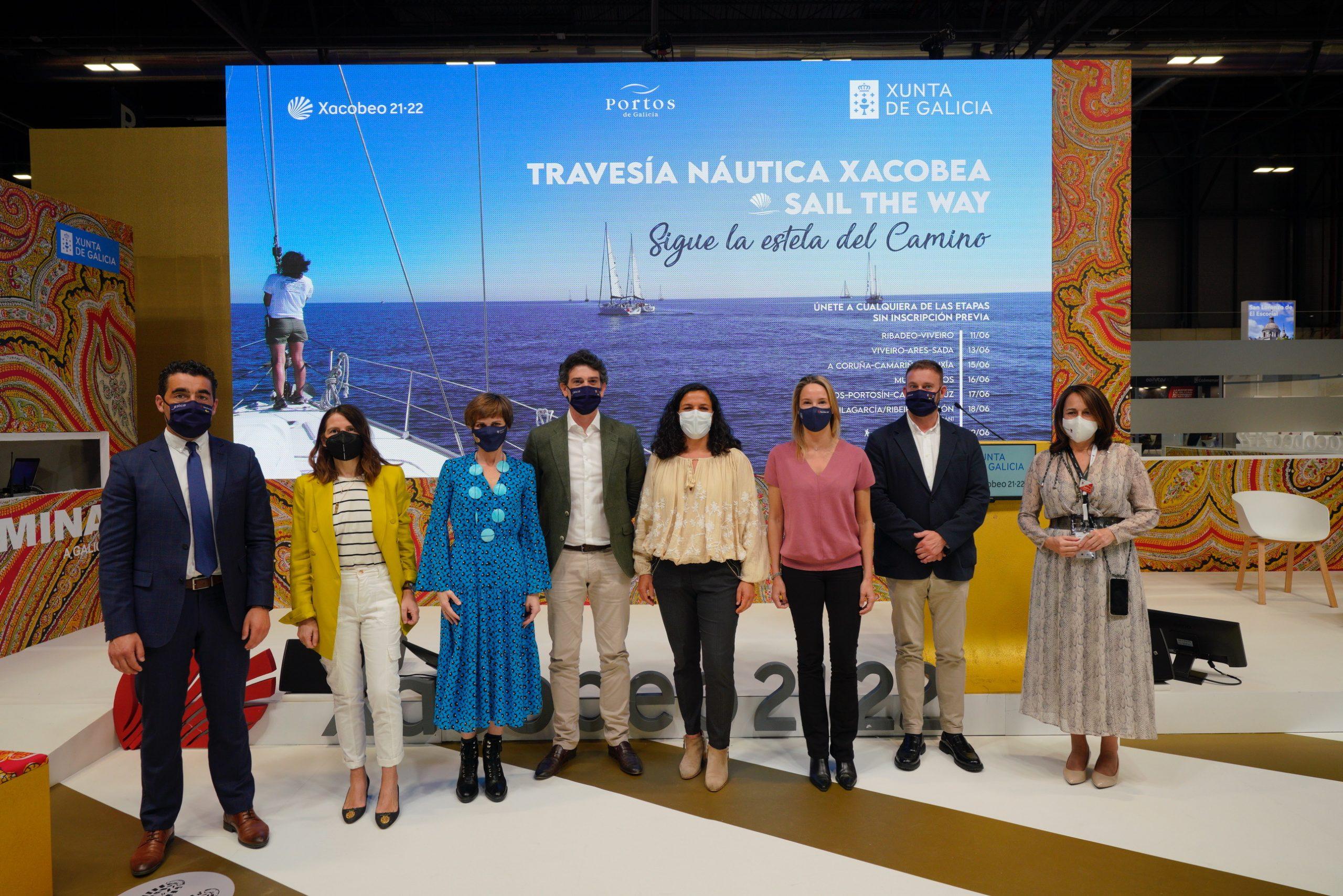 Galicia presenta en Fitur a travesía náutica Xacobea Sail the Way, que promocionará o camiño por mar no mes de xuño, partindo de Ribadeo