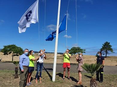 O Concello de Viveiro moi satisfeito pola concesión, un ano máis, da bandeira azul á praia de Area