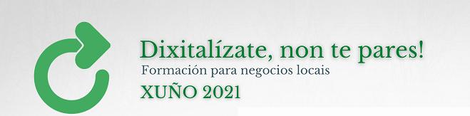 Aberta a convocatoria de prazas libres para asistir aos cursos de formación en dixitalización dirixido a empresas locais de Ribadeo