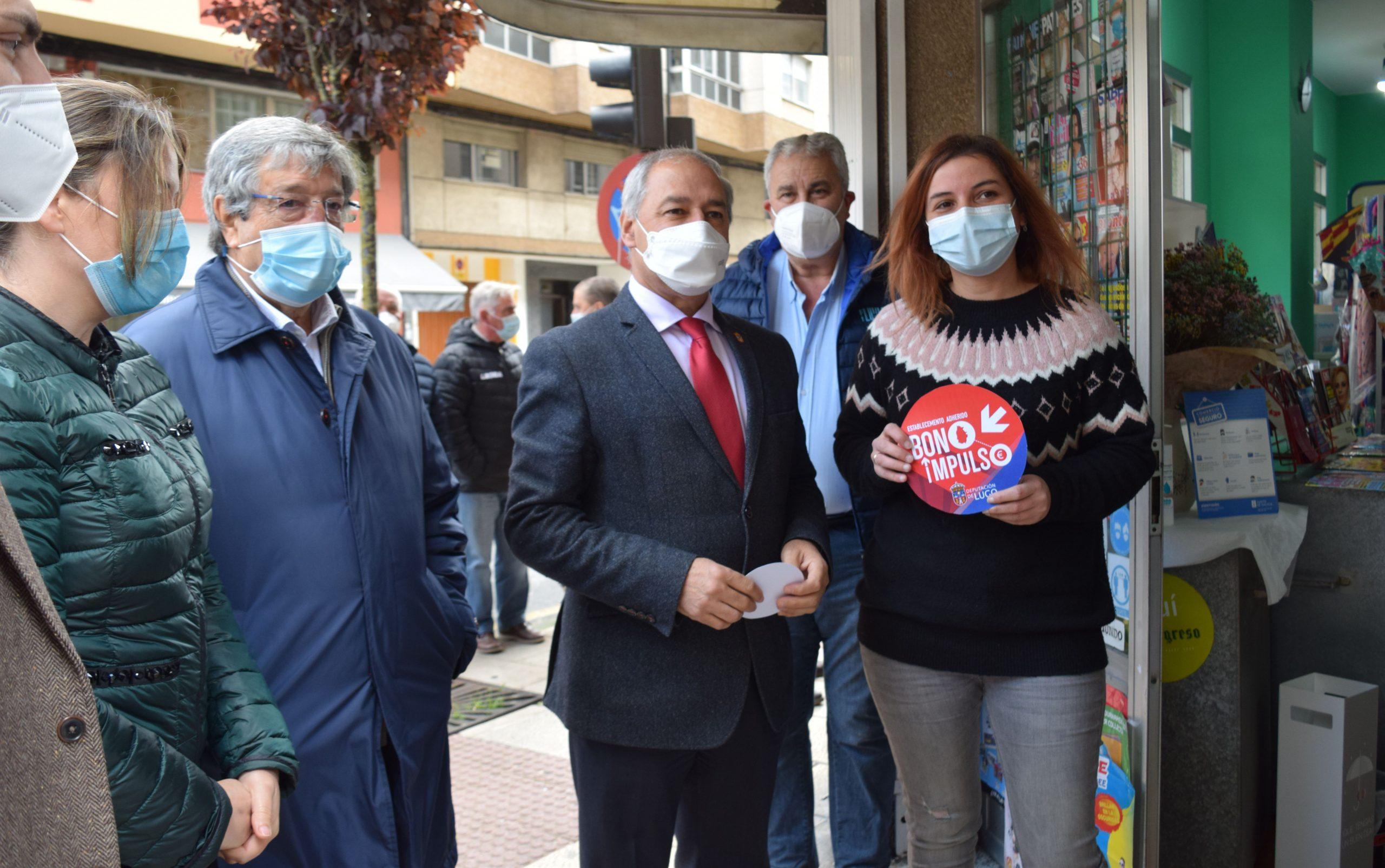 O alumnado do Sagrado Corazón, Gregorio Sanz e Dionisio Gamallo de Ribadeo, participaron nun proxecto intercentros en varios puntos da vila