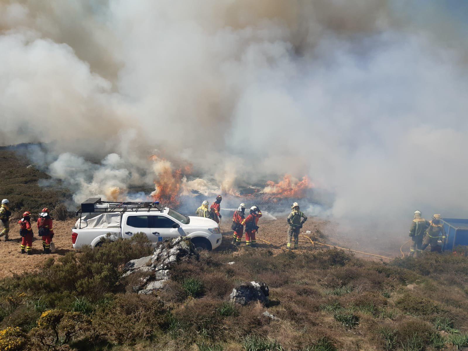 A fiscalía investiga os incendios forestais provocados polas queimas ordenadas pola Consellería do Medio Rural