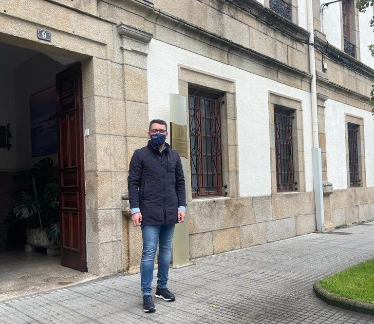 """""""Estou empeñado en conseguir fondos para o asilo de Ribadeo"""", afirma Daniel Vega"""