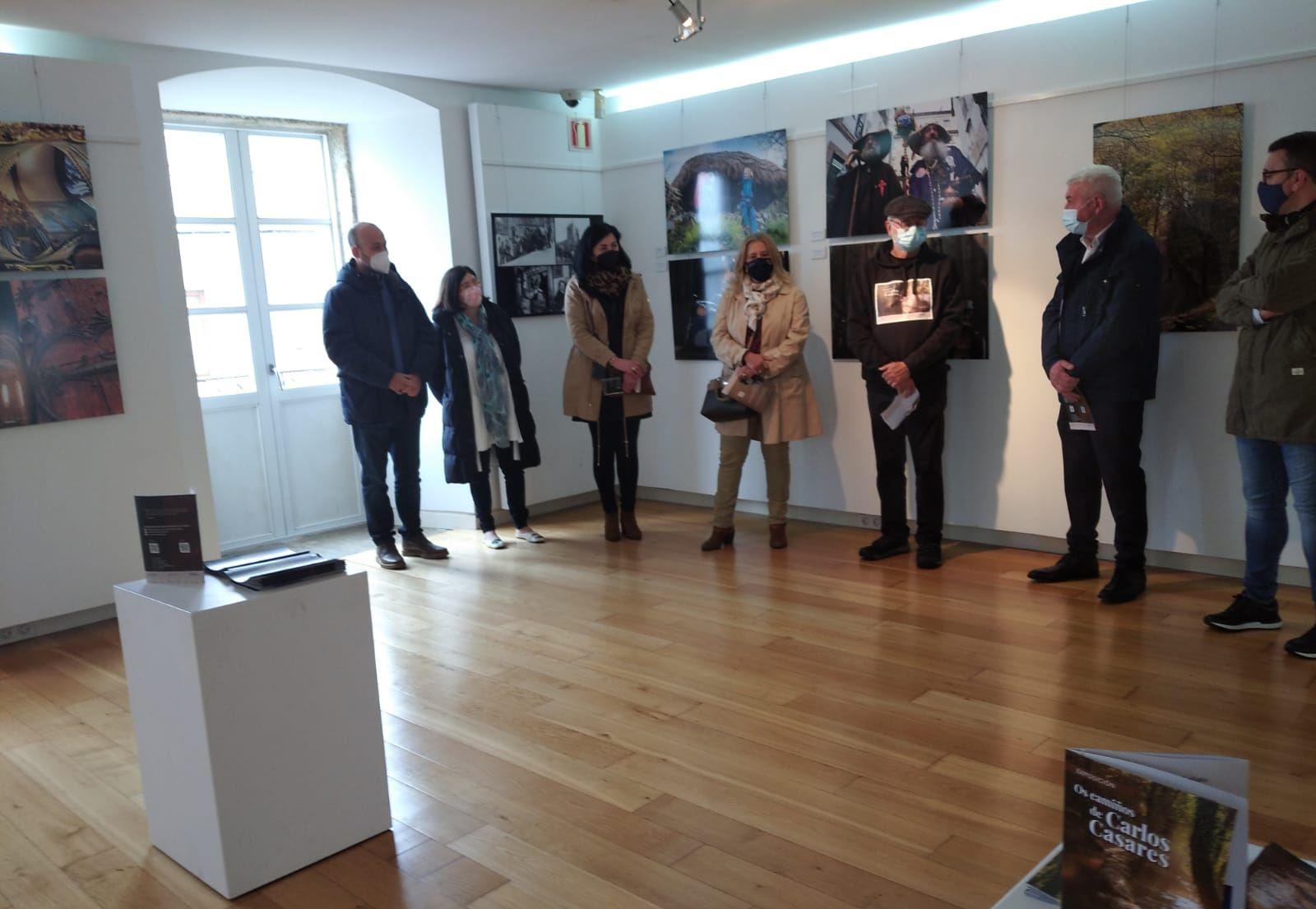 A Deputación participa en Mondoñedo na inauguración da mostra Os Camiños de Carlos Casares