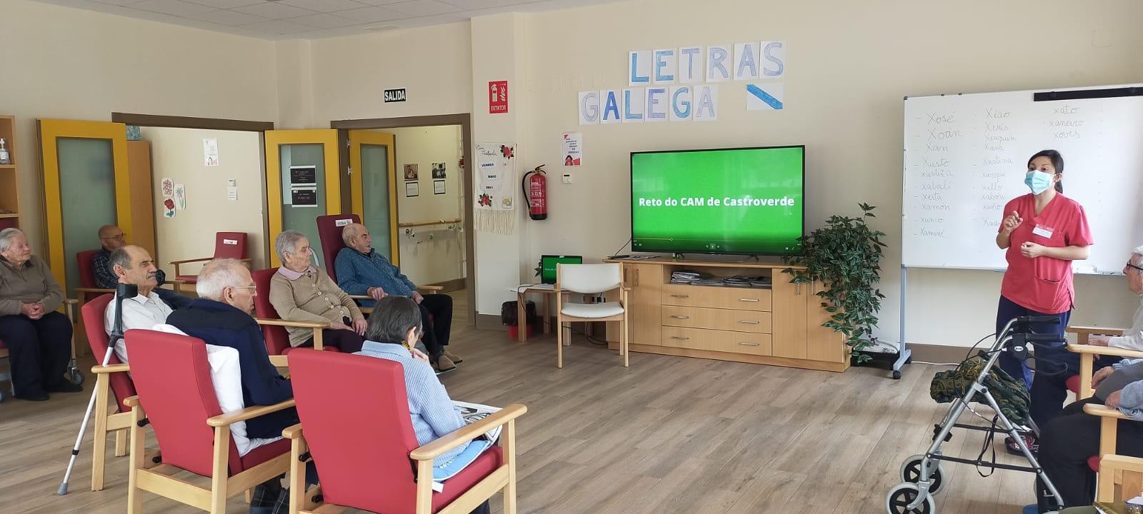 Os Centros de Maiores da Deputación celebran o Día das Letras Galegas homenaxeando a Xela Arias