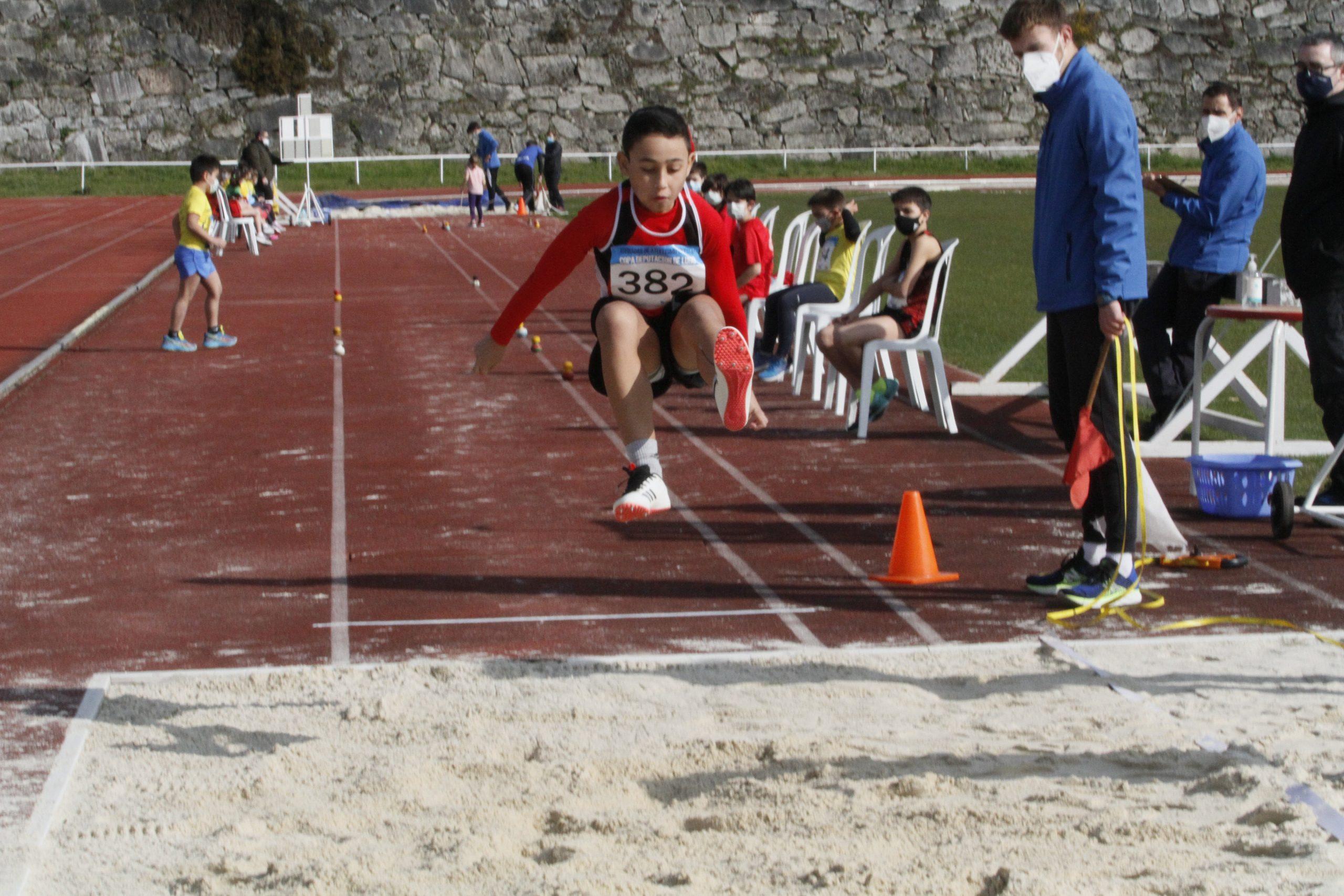 Este sábado celébrase a cuarta xornada da Copa Deputación de  Atletismo