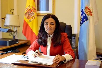 A subdelegada do Goberno, Isabel Rodríguez, lémbralle ao conselleiro de Industria que a responsabilidad da situación de incerteza na que se atopan os traballadores de Alcoa é da multinacional, non do Goberno de España