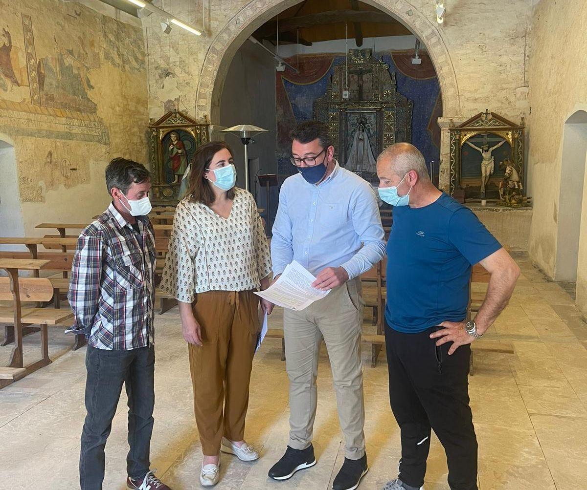 A Xunta inviste 183.000 € para a mellora do santuario de Arante