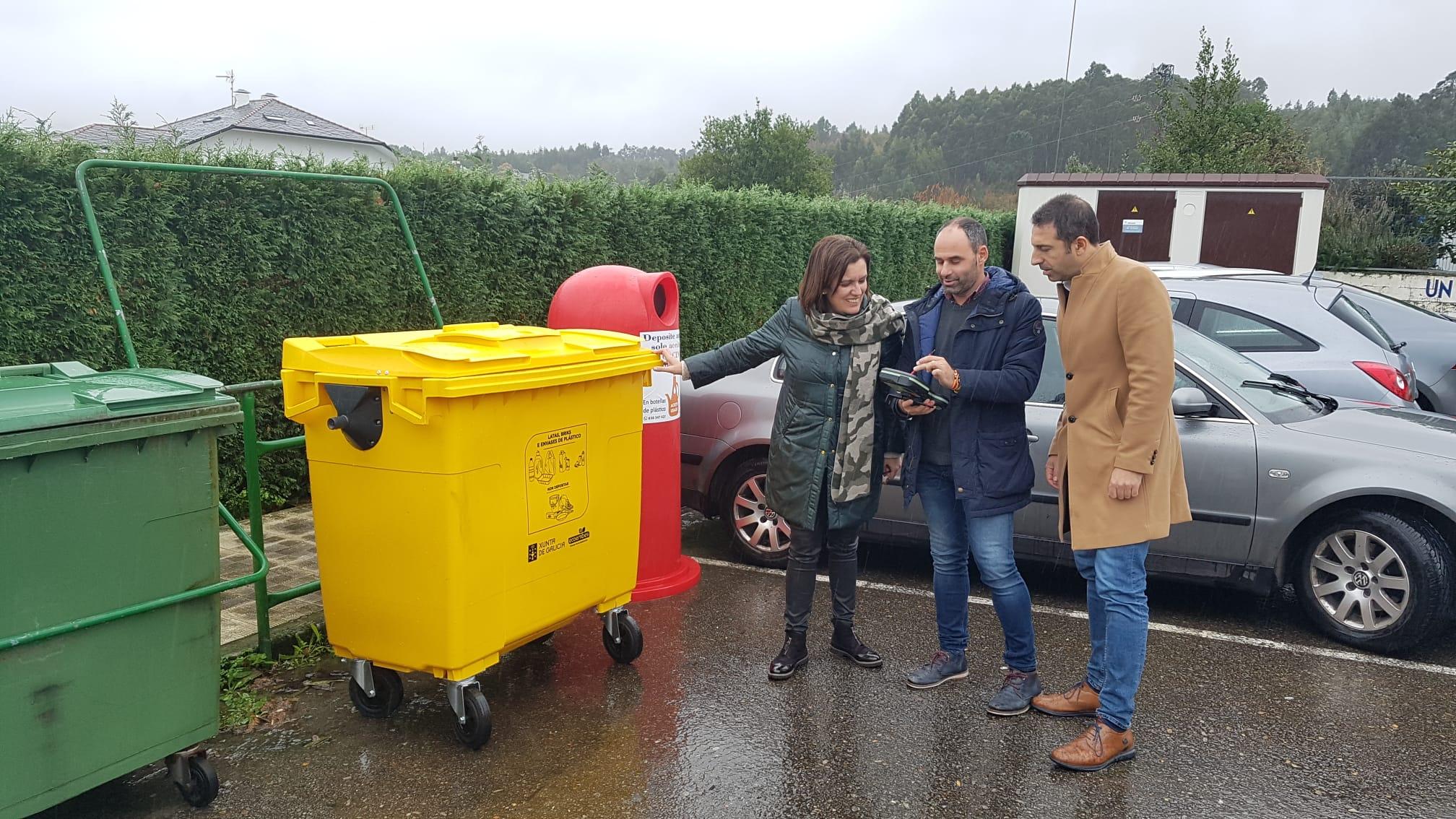 Cunha media de 25,5 kgs de envases lixeiros por veciño no 2020, Cervo convértese nun referente galego en reciclaxe