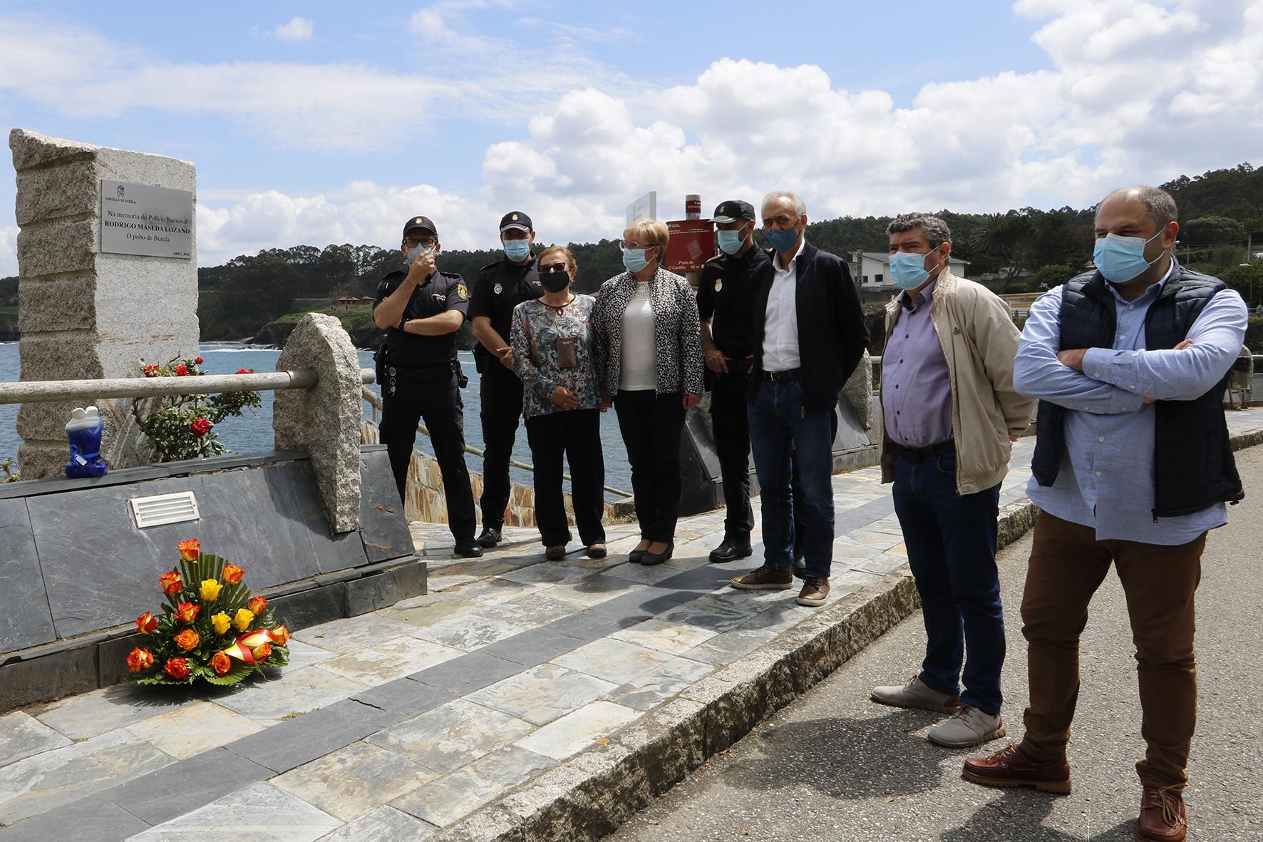 Homenaxe aos Heroes do Orzán no Cantiño e Vista Alegre