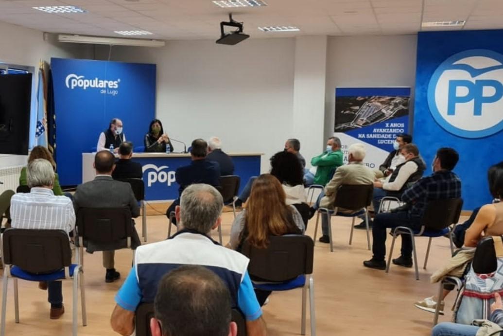Os afiliados do PP na provincia de Lugo elixirán a 139 compromisarios para o 17º Congreso do PPdeG