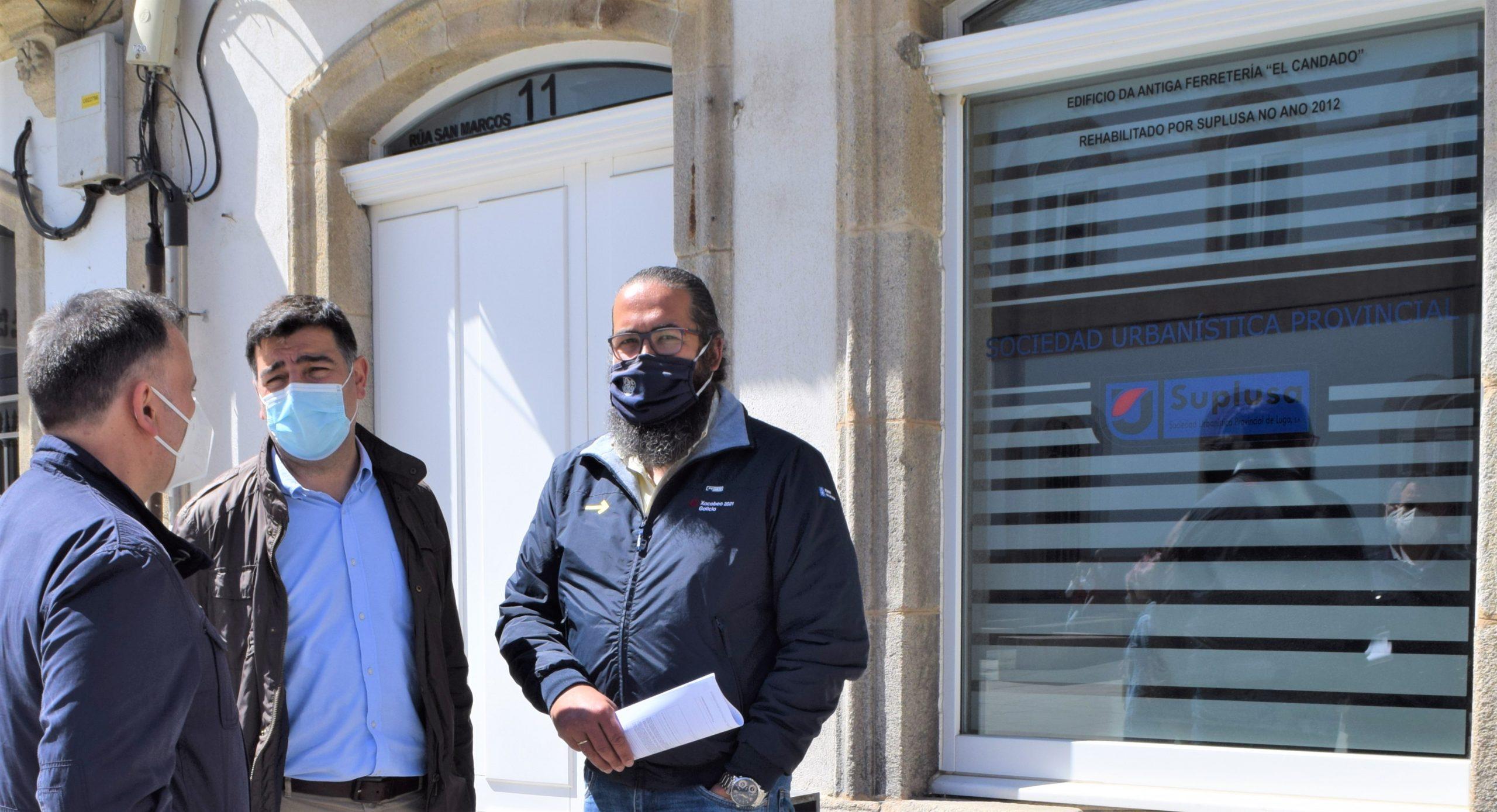 O PP pide autorización ao goberno provincial para visitar o edificio de San Marcos, 11, que foi sede de Suplusa, para comprobar en que estado se atopa e para que fin pode ser usado