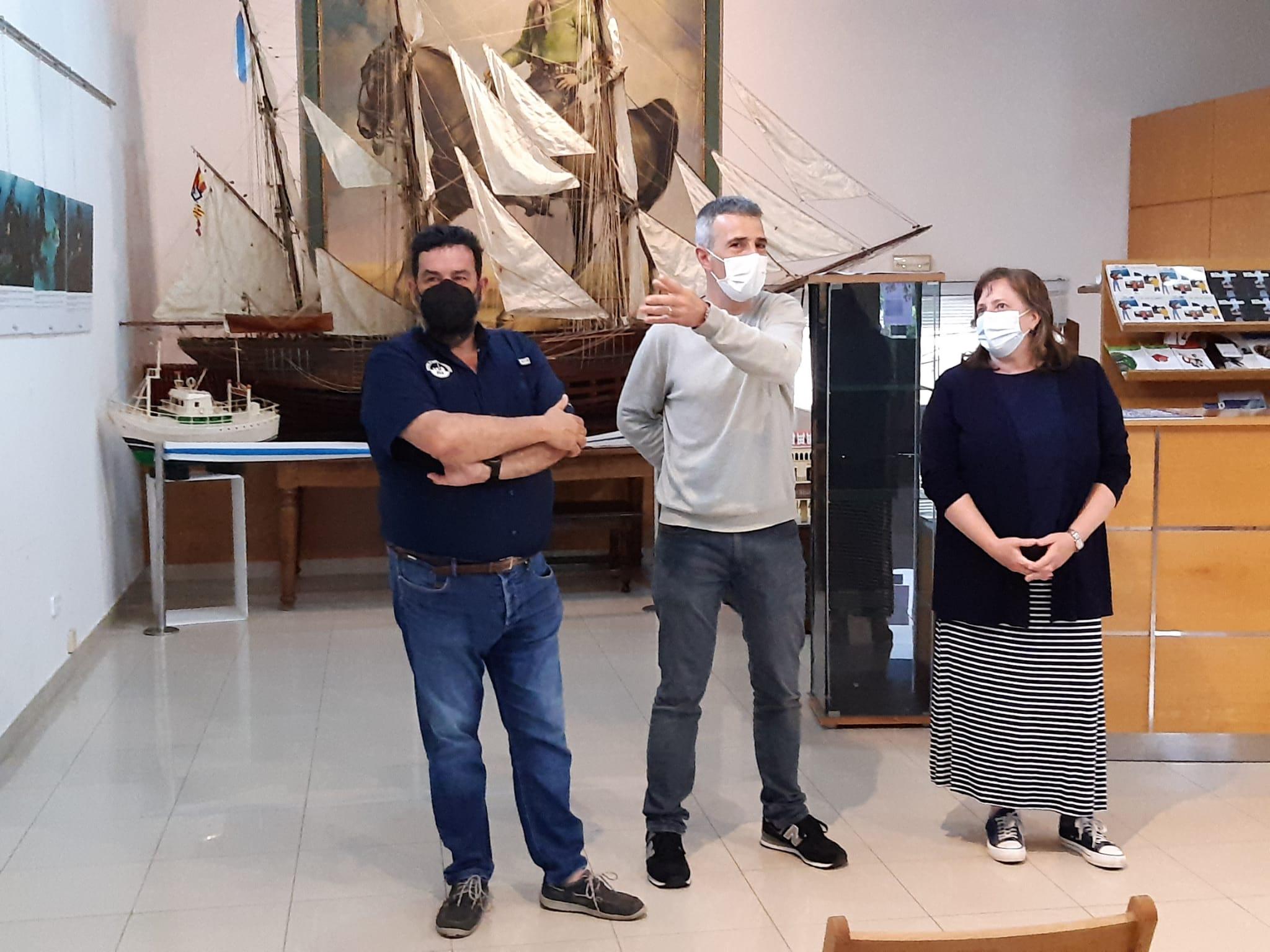 A exposición o 'Galeón de Ribadeo, unha vista ao século XVI' pode visitarse ata o 4 de xullo na oficina de turismo
