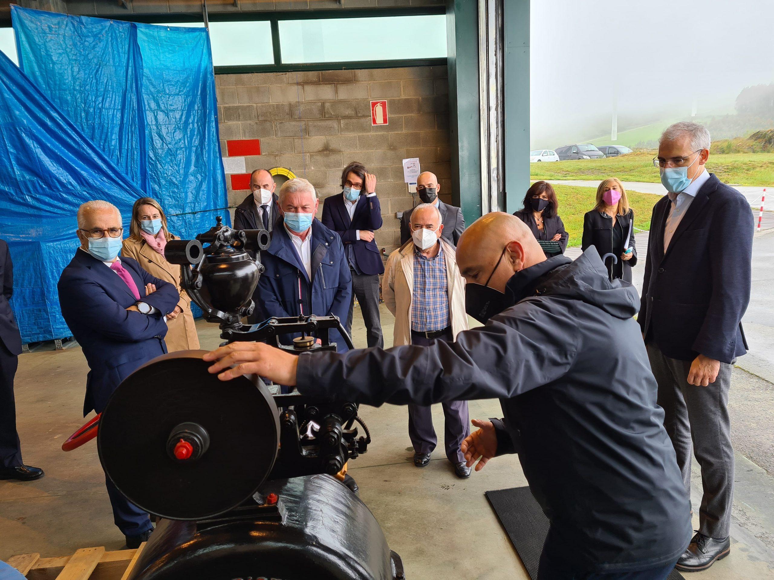 A Xunta ensalza o compromiso de Sotavento no desenvolvemento das enerxías renovables en Galicia a través da I+D+i e a pedagoxía