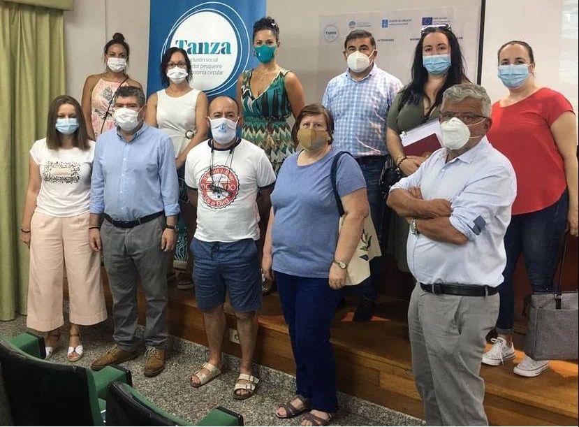 Burela-In, un proxecto financiado polo Galp que promove a economía circular no sector pesqueiro