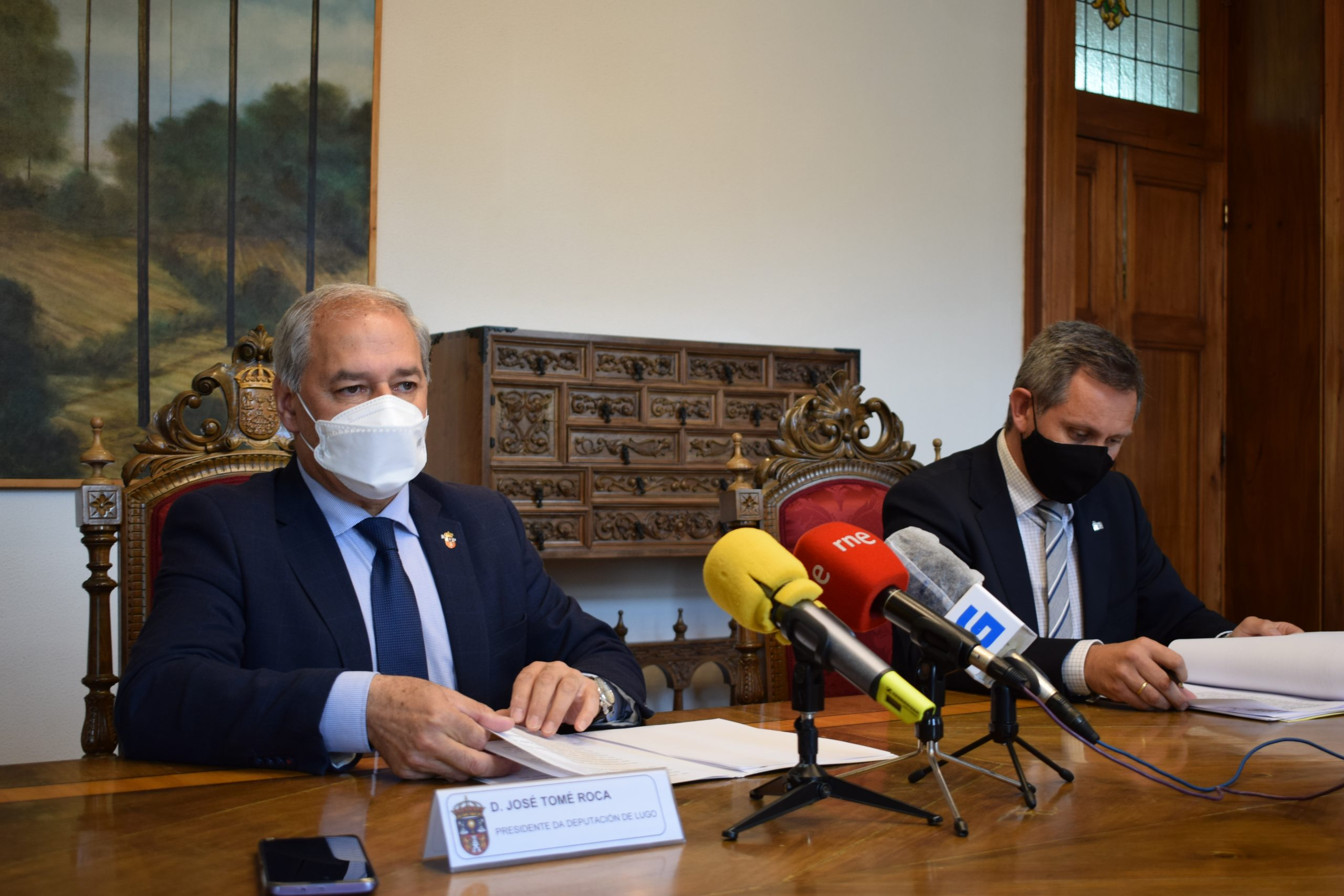 José Miñones cifra en 1.509 millóns de euros o protagonismo da provincia de Lugo nas políticas do Goberno