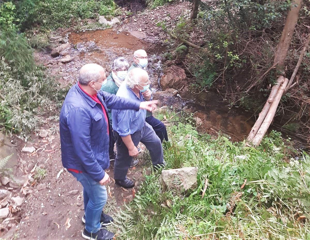 O PP de Viveiro apoia aos veciños que reclaman a reconstrución da ponte de Silvoso, que se derrubou hai oito anos debido a unha crecida