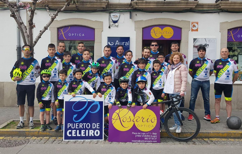 Viveiro acolle este sábado dúas probas ciclistas organizadas polo Club Ciclista Viveiro