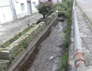 Eliminado un punto de vertido de augas residuais domésticas ao río Valiñadares ao seu paso por Mondoñedo