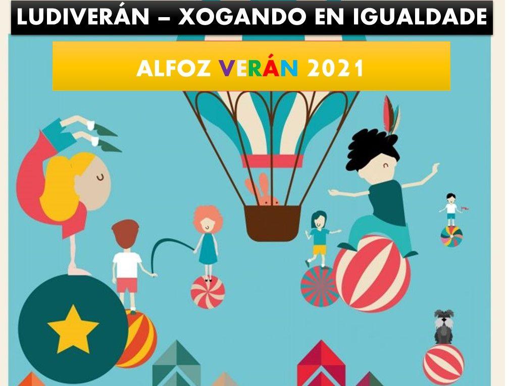 Ludiverán-Xogando en Igualdade, programa de verán do Concello de Alfoz