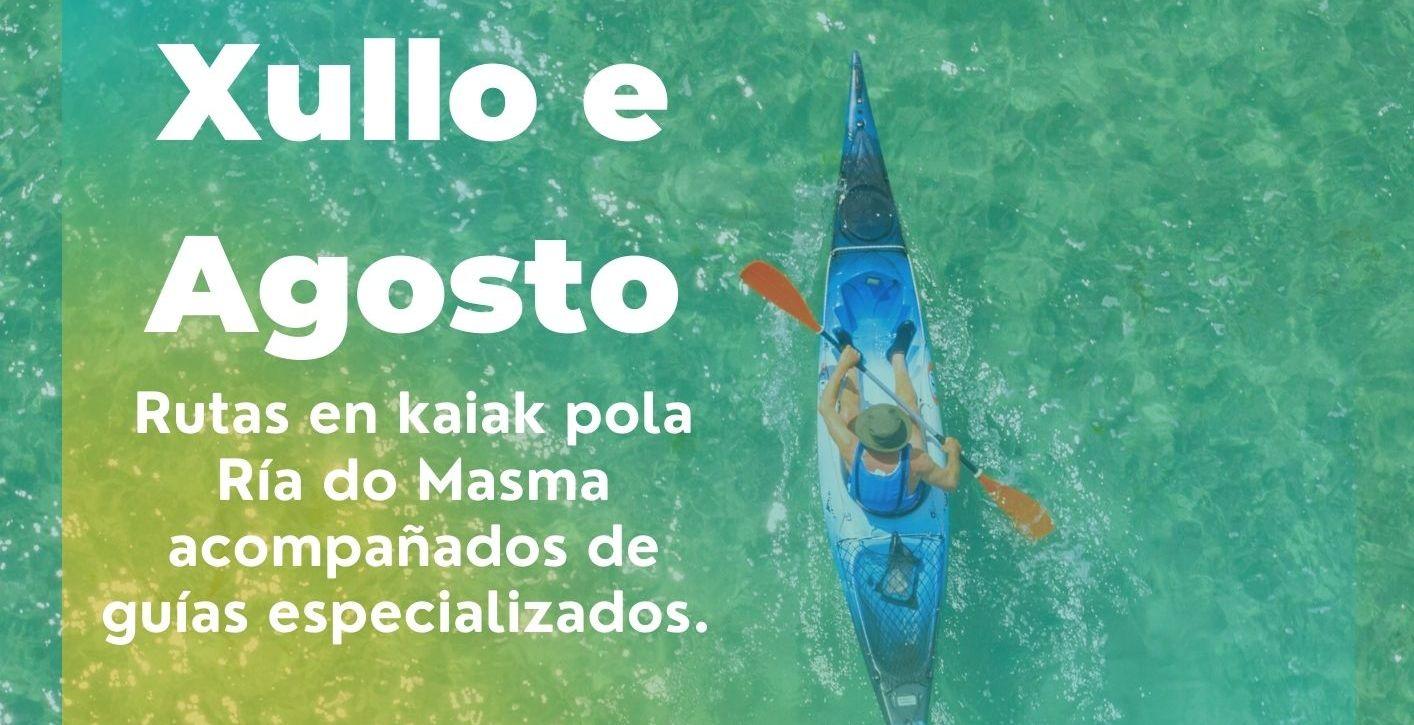 Rutas en kaiak polo Masma, unha proposta para este verán do Concello de Barreiros