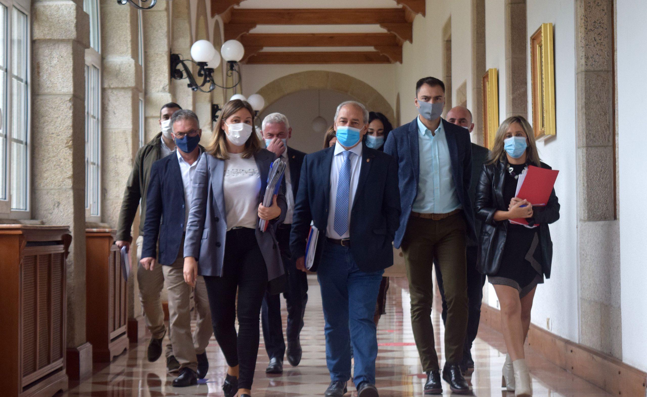O Grupo Socialista na Deputación demanda ao goberno galego que exerza as súas funcións e cumpra coa súa obriga de conservar o patrimonio cultural, ante o abandono que sofre