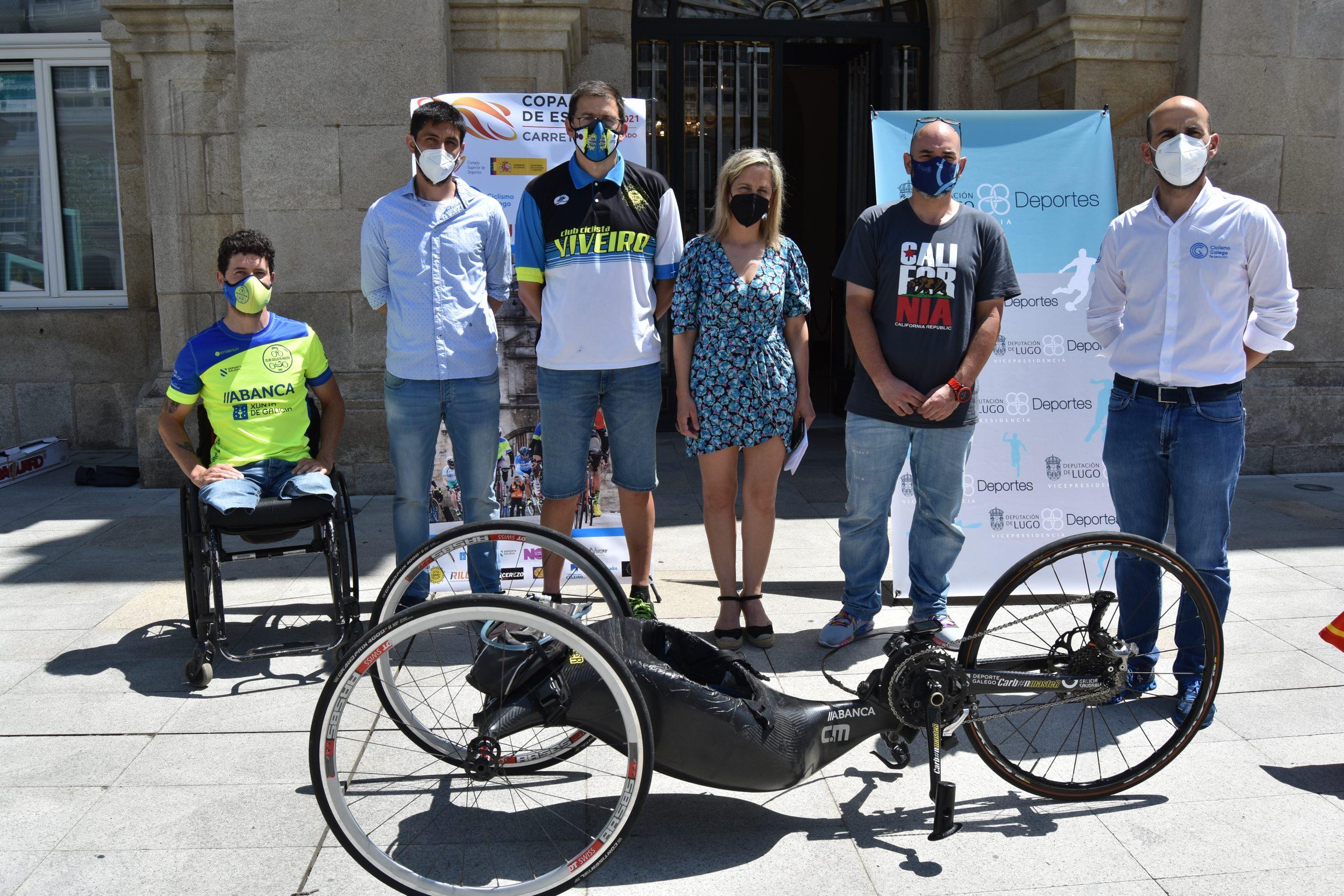 Viveiro acollerá a segunda edición da Copa de España de Ciclismo Adaptado