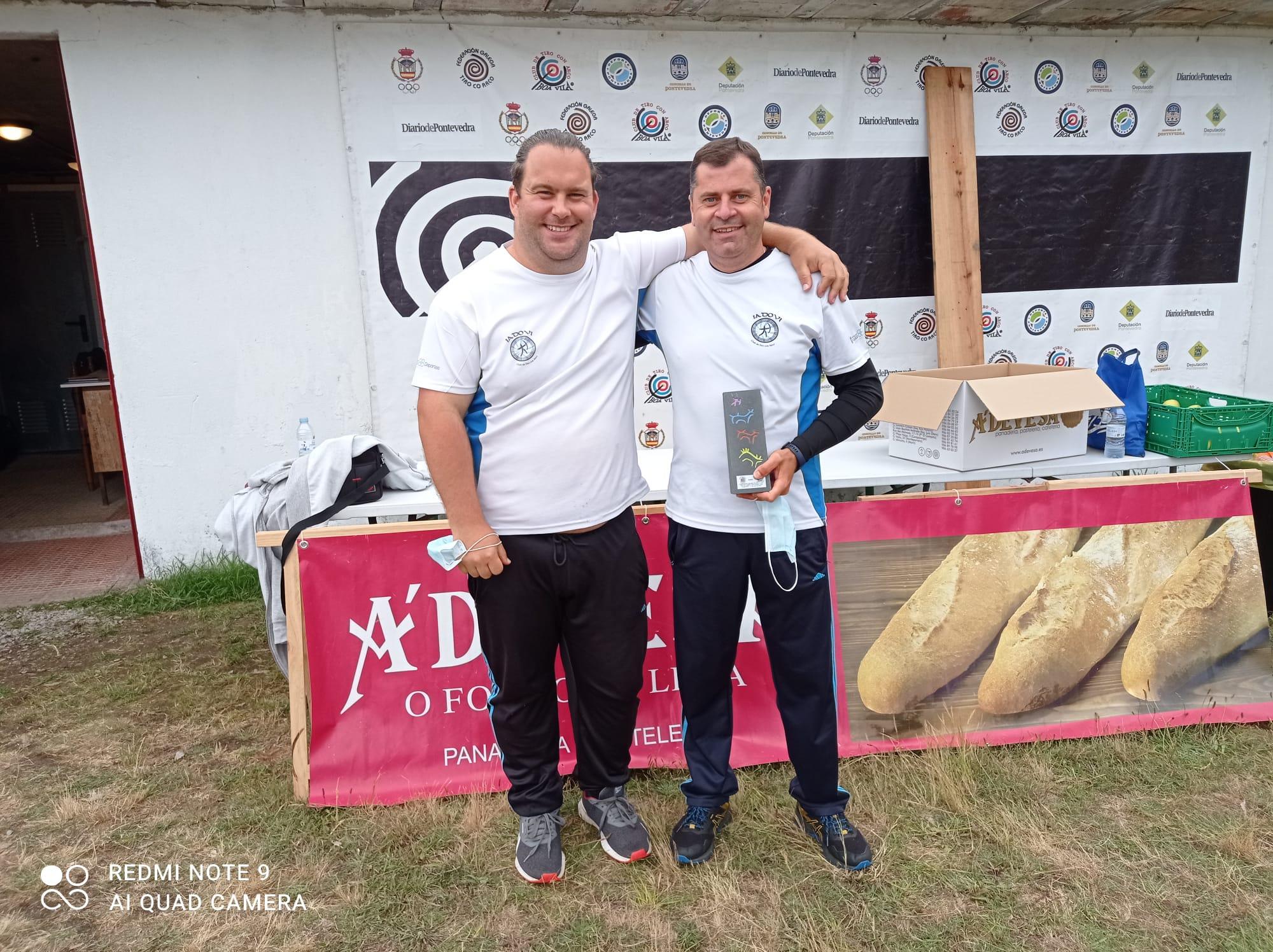 Excelente participación do Iadovi no Campeonato Galego de tiro de arco en campo