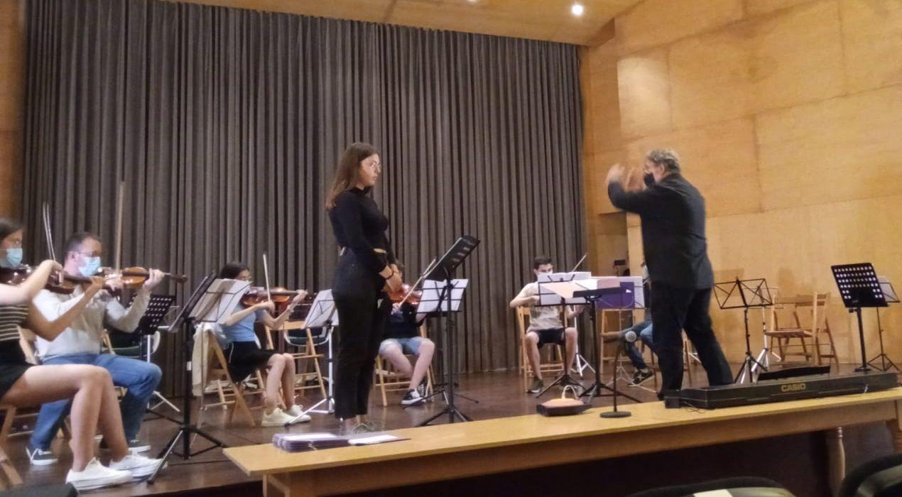 Clausurado o VII Encontro da Orquestra Xuvenil da Mariña