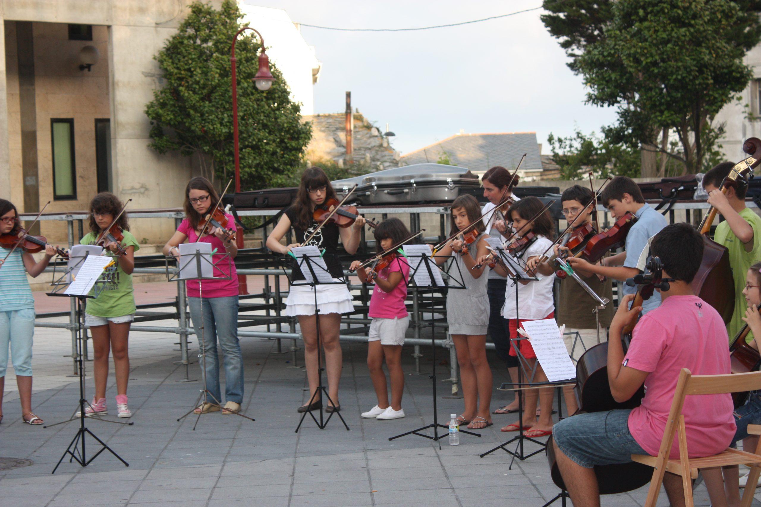 Aberto o prazo de inscrición na Escola Municipal de Música de Burela ata o 15 de xullo