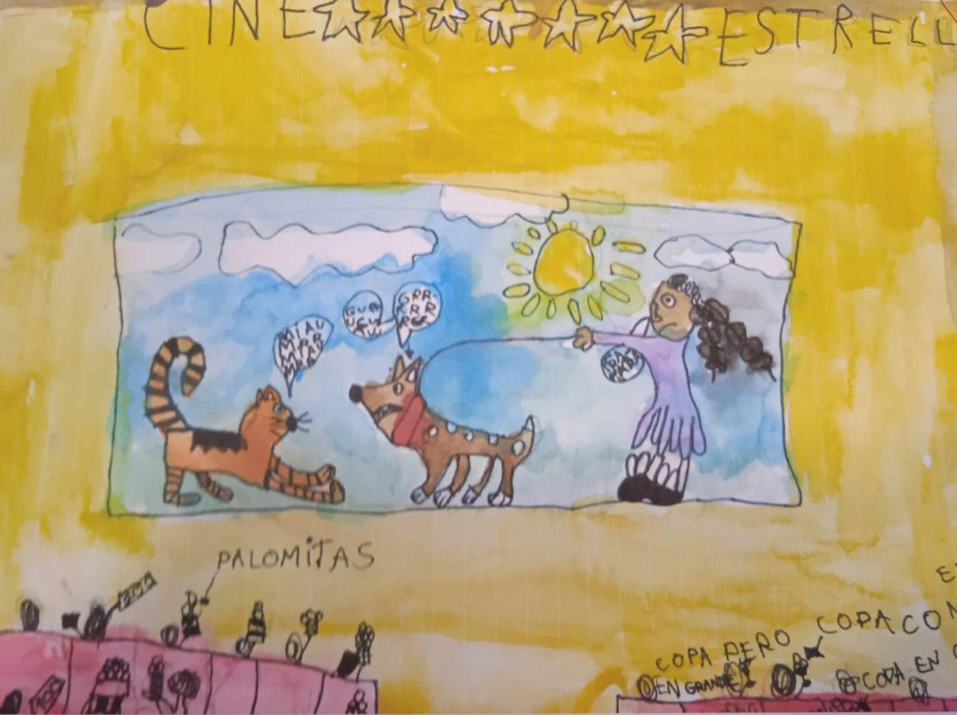 O Concello de Viveiro felicita a Sofiya Insua e Elena Rivera polos seus premios na fase provincial do Certame de debuxo infantil