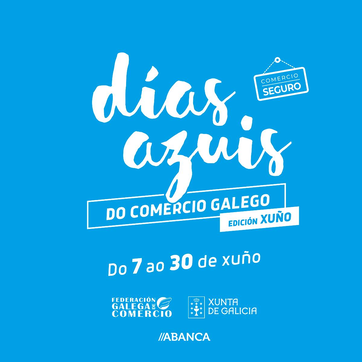 80 negocios asociados a Acisa na nova campaña de Días Azuis