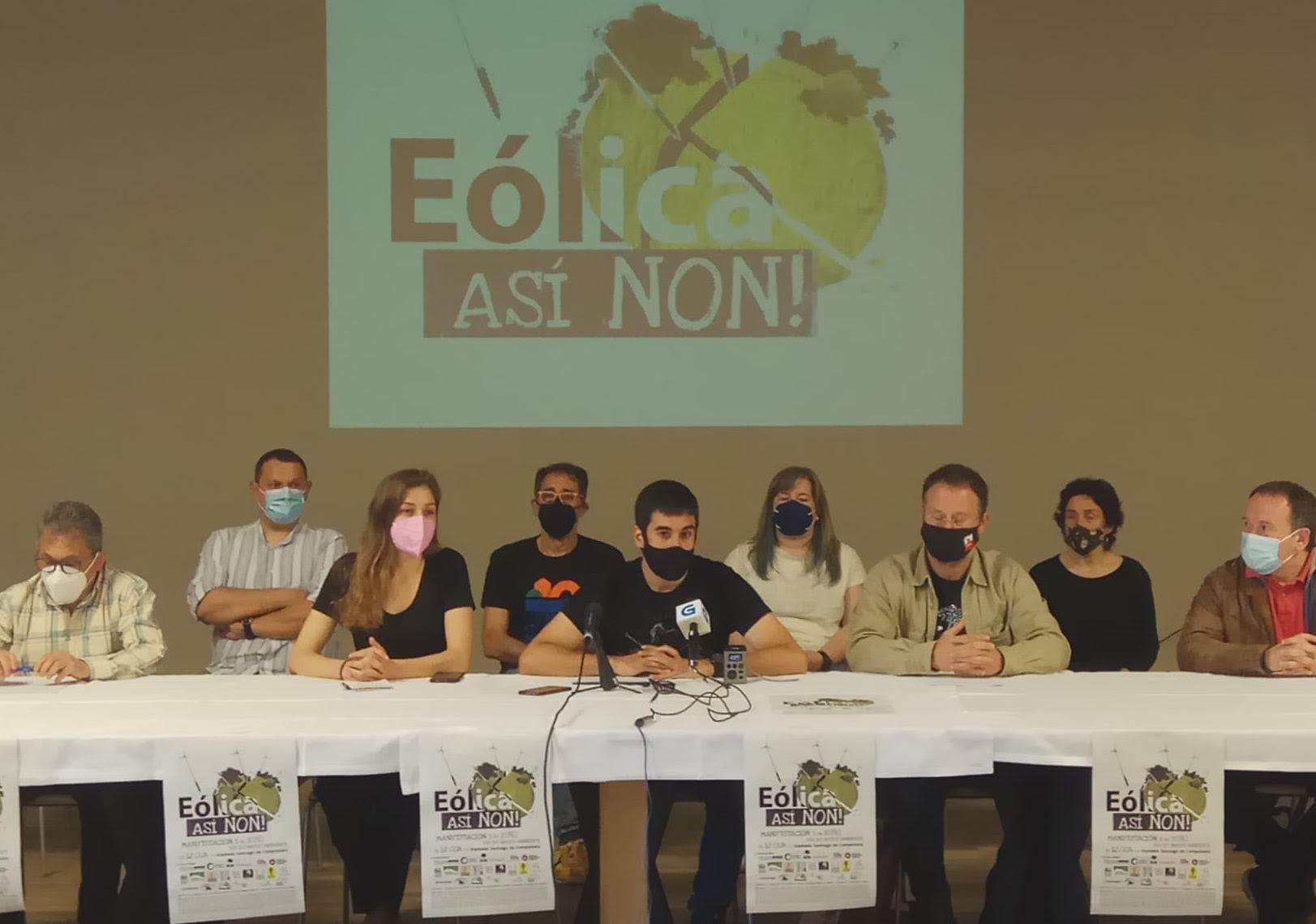 Máis de 130 colectivos esixirán o Día do Medio Ambiente a paralización dos proxectos eólicos en tramitación