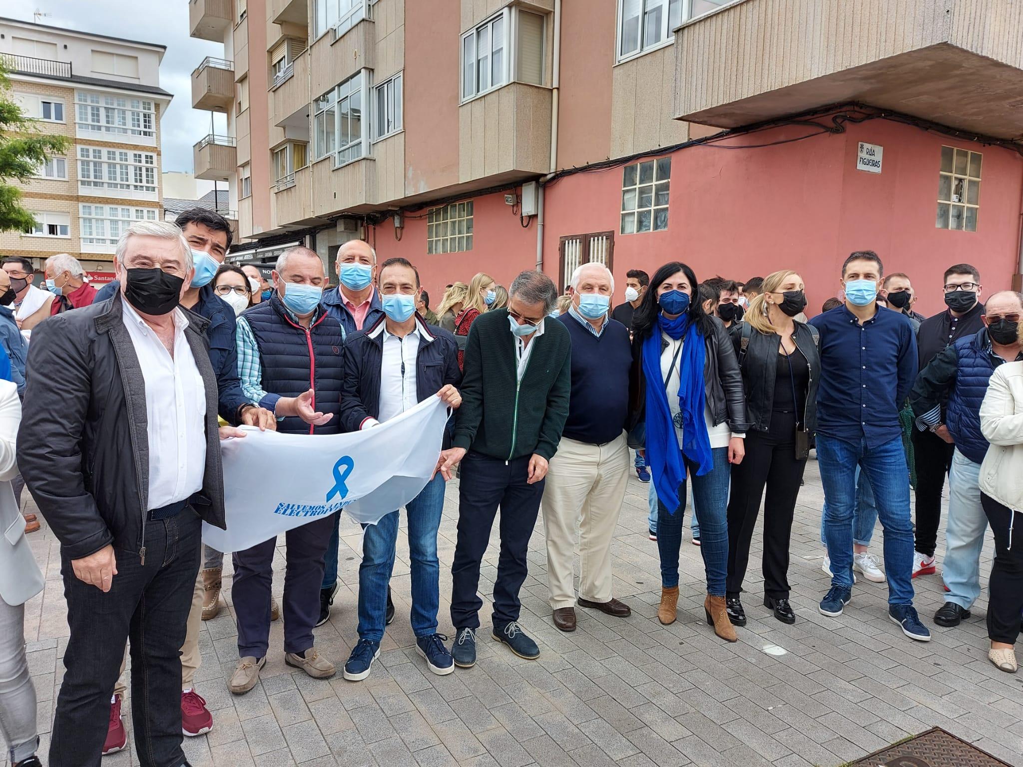 Apoio do PP ás reivindicacións dos traballadores de Alcoa