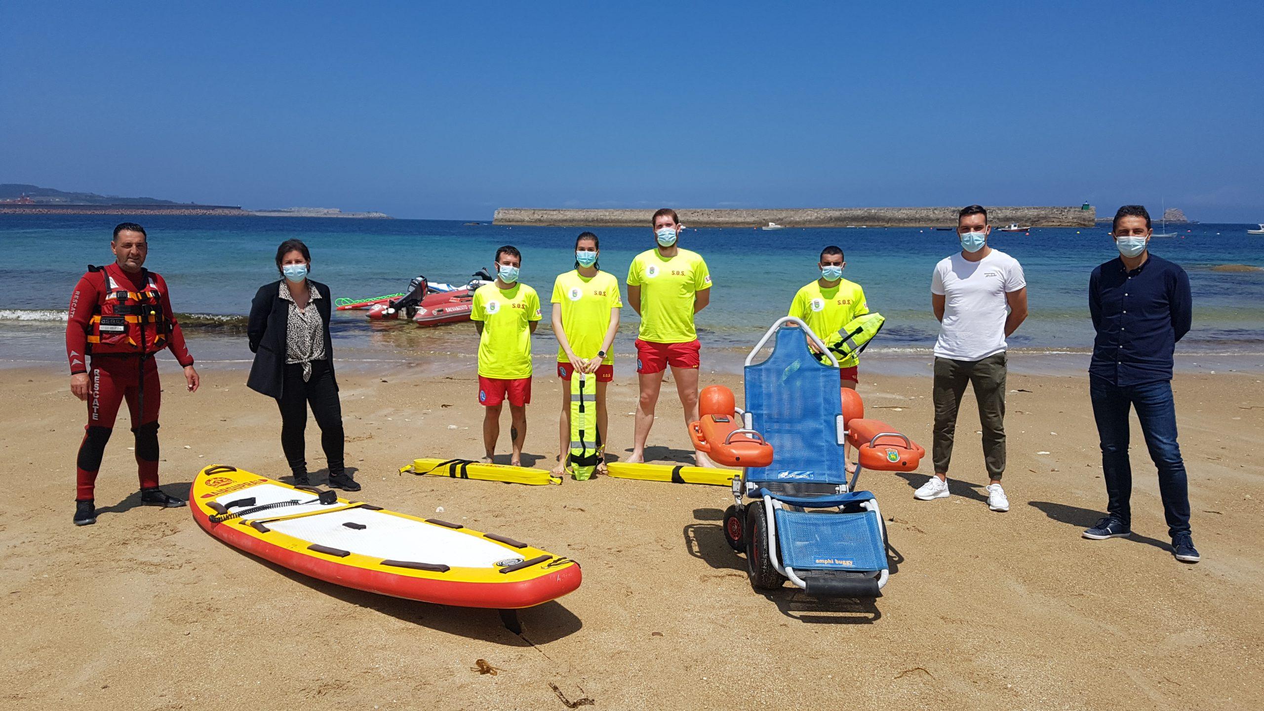 A praia do Torno estrea xullo con servizo de socorrismo