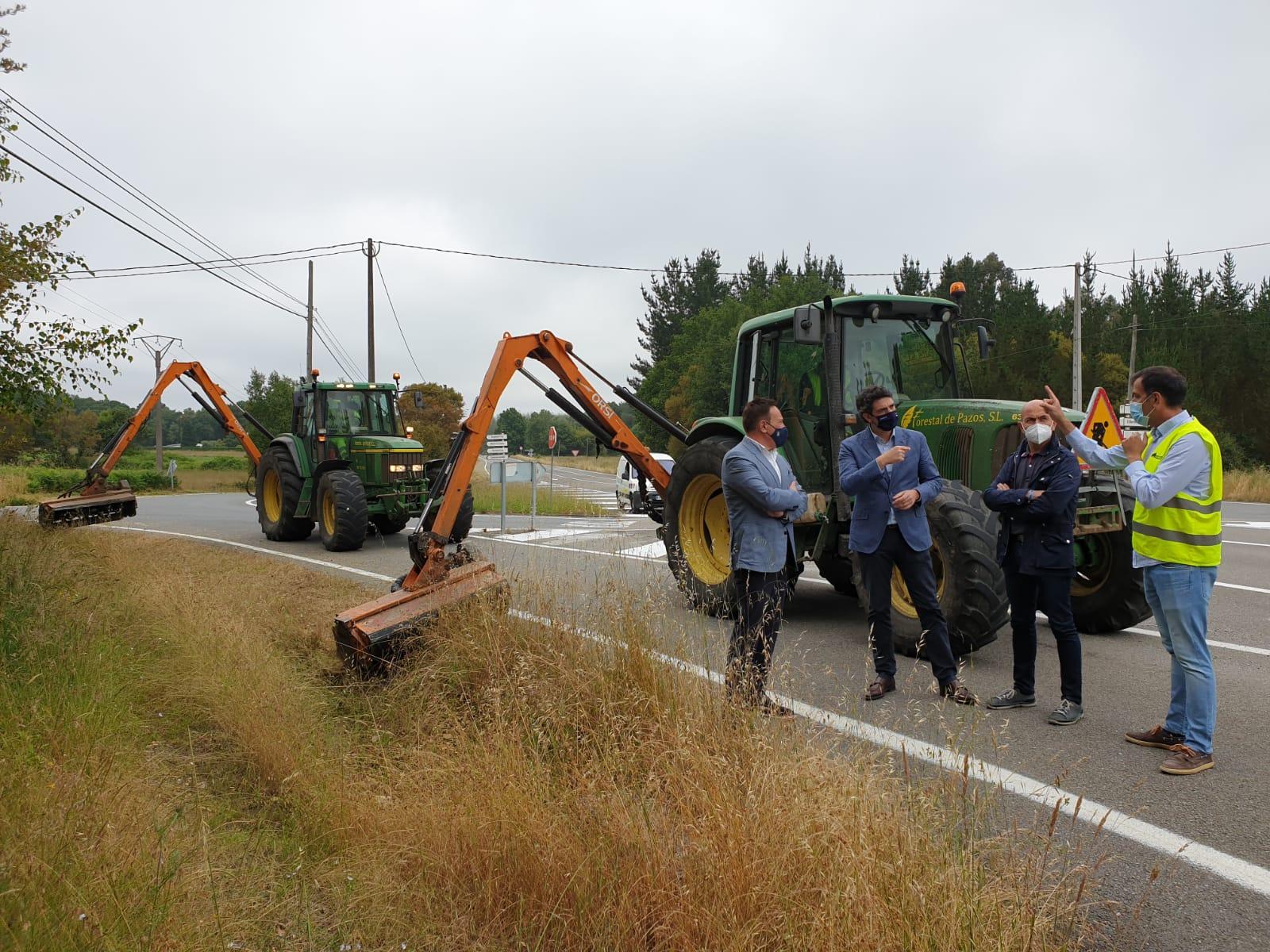 649.000€ para rozar as marxes das estradas autonómicas na provincia
